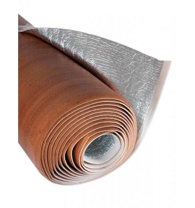 Apm6 rollo aislante t rmico color madera oscura aislantesprodex com - Madera aislante termico ...