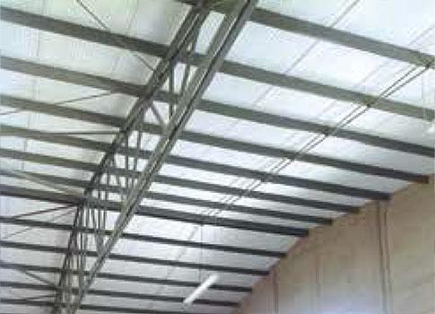 aislamiento térmico instalado para techos y paredes